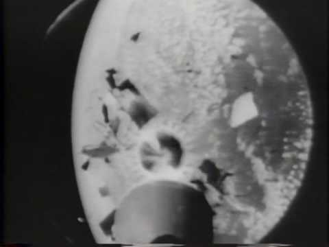 Space Movie. Camera Records Missile In Flight 1963 Newsreel