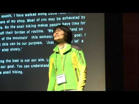 TEDxDaejeon - SangEun Lee - with feeling the aesthetics of slowness