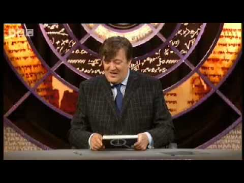 QI: Can you name a soft wood? BBC comedy with Stephen Fry