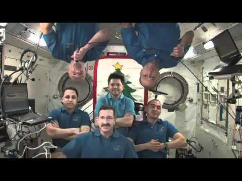 Season's greetings from the International Space Station