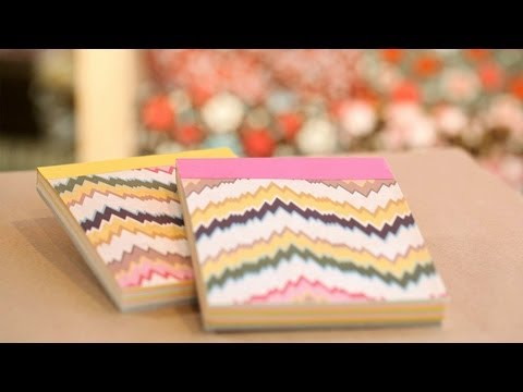 Paper Notepads DIY: Make Yourself || KIN DIY