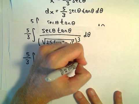 Trigonometric Substitution, Ex 4 - Rational Powers
