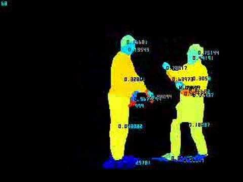 Surveillance system spots violent behaviour 2