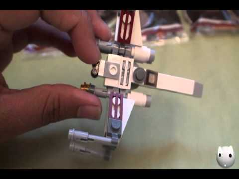 Star Wars Mini X - Wing Fighter Plane Review!