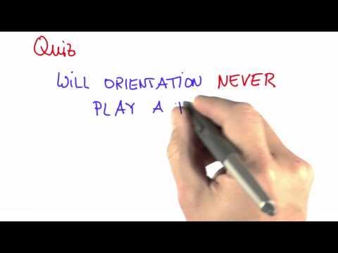 Orientation 1 - CS373 Unit 3 - Udacity