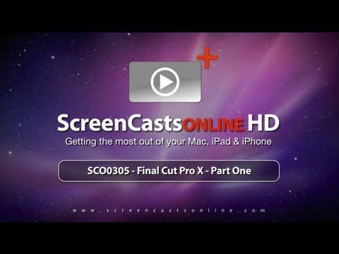 SCO0305 - Trailer for Final Cut Pro X - Part 1