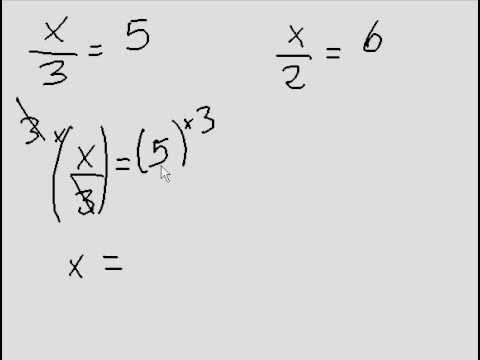 Simple Algebra involving fractions