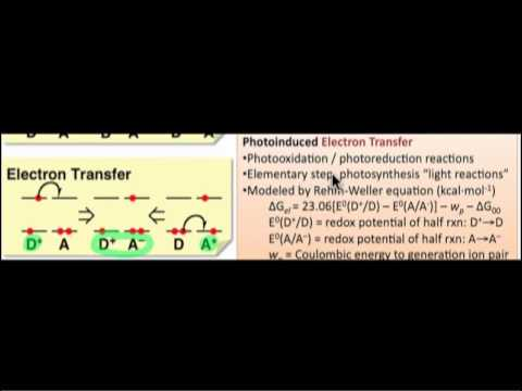 Photoinduced Energy & Electron Transfer Reactions