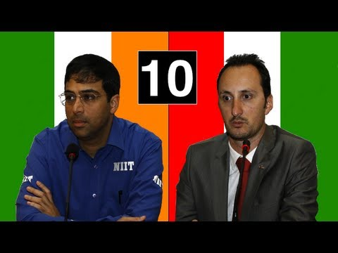 Topalov vs Anand - Game #10: 2010 World Chess Championship
