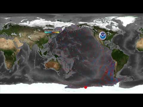 Tohoku Tsunami Creates Antarctic Icebergs
