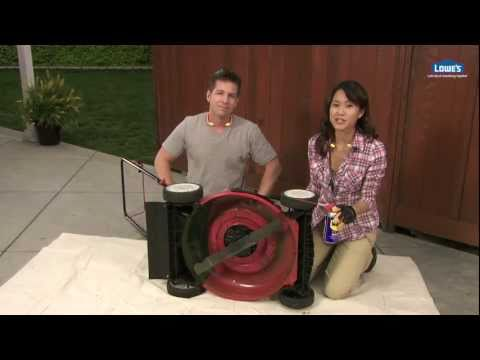 Spring Lawn Mower Maintenance and Tune Up Tips