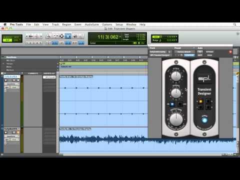 Pro Tools tutorial: The SPL Transient Designer tool | lynda.com