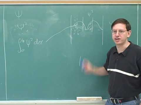 Particle in a box. Quantum numbers (1)