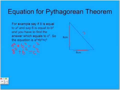 Pythagorean Theorem by Athmeka