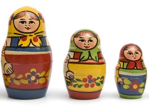 Russian Dolls - Words of the World