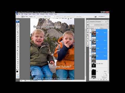 Photoshop: Flattening and saving to TIFF | lynda.com