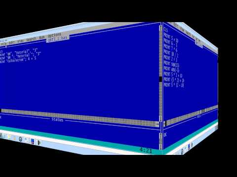 QBasic Tutorial 3 - Print Formatting - QB64