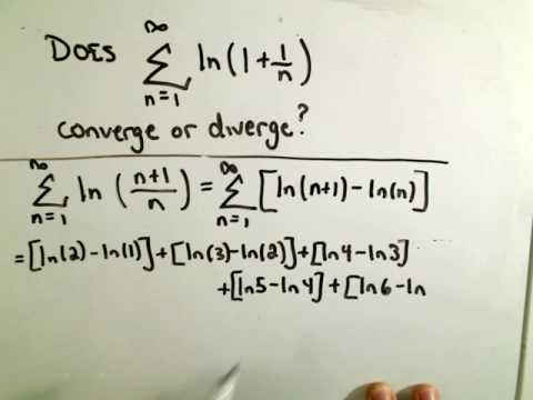 Showing a Series Diverges using Partial Sums