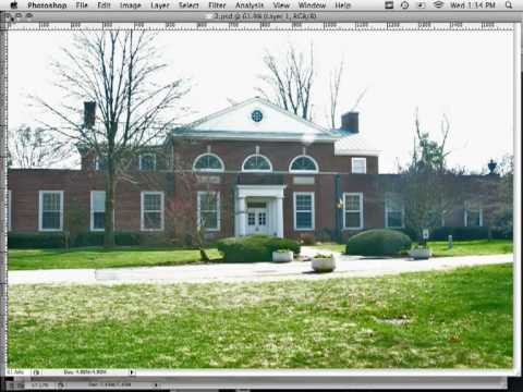 Photoshop: Fixing Over Exposed Images