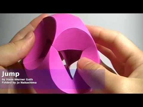 Origami Jump (Hans-Werner Guth) - Not a tutorial