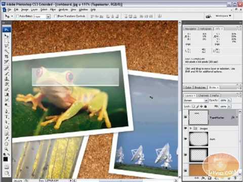 Photoshop: Draw Digital Tape!