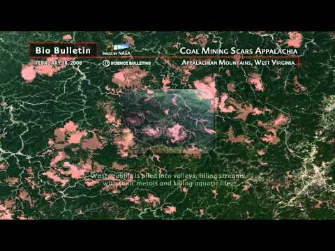 Science Bulletins: Coal Mining Scars Appalachia