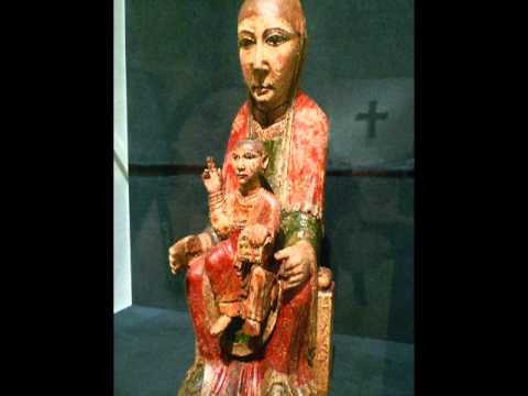 Virgin from Ger, second half of the 12th century