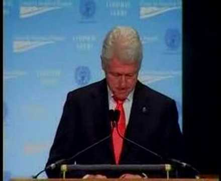 President Clinton at CAP's Common Good Conference Part 3