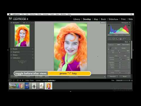 Photoshop Lightroom, Lightroom: Making basic adjustments in the Develop module  | lynda.com