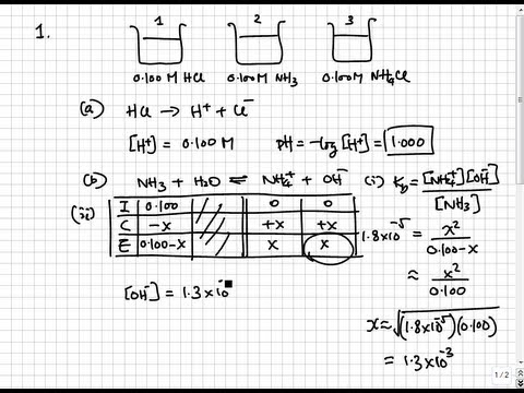 Solutions to 2011 AP Chemistry Exam Free Response Questions | College & AP Chemistry Solutions 14