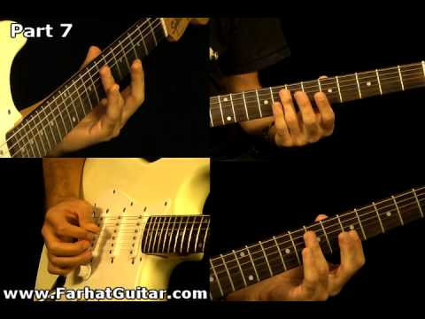 Sunday Bloody Sunday -U2 Guitar Cover Part 7  www.FarhatGuitar.com