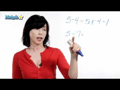 Subtraction Tip - Converting Subtraction to Addition