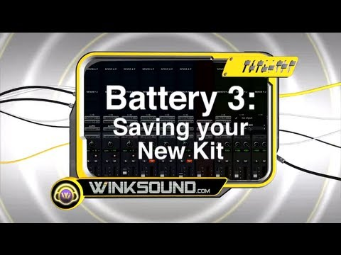 Native Instruments Battery 3: Saving Your New Kit | WinkSound