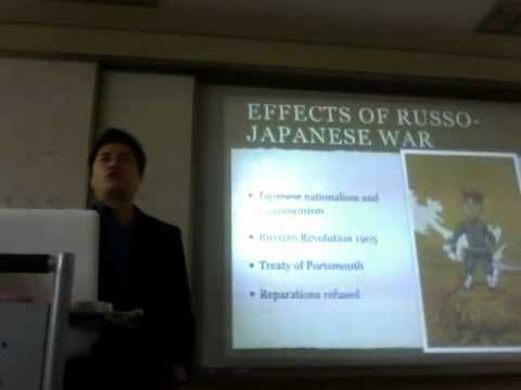 Sino-Japanese and Russo-Japanese War Lecture Part 5/5