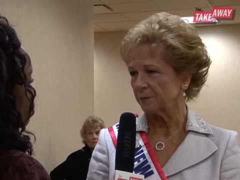 The Takeaway attends Ms. Senior America 2009