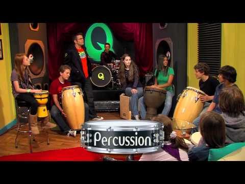 The Percussion Family Episode #19 Preview - Quaver's Marvelous World of Music