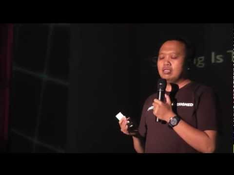 Sharing is the Power of Being Creative: Arief Budiman  at TEDxITS