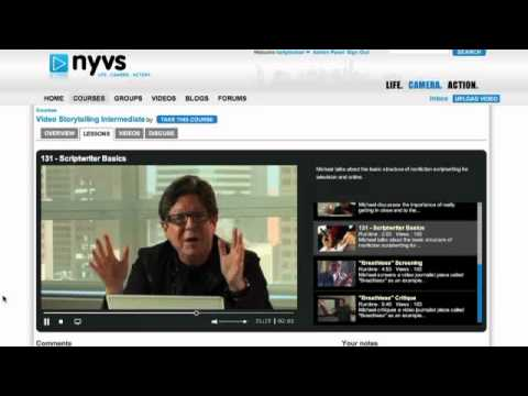 NYVS - A place where you can learn everything there is to know in order to make videos