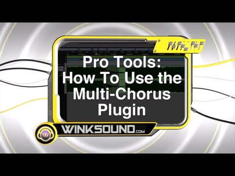 Pro Tools: How To Use the Multi-Chorus Plugin