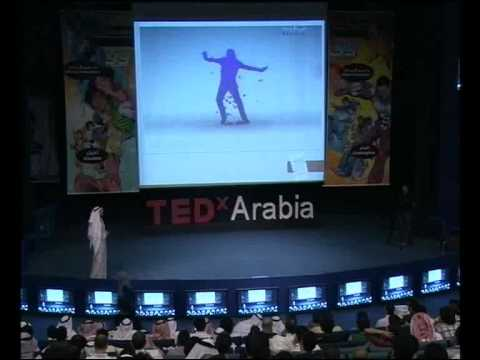 TEDxArabia talk - Thamer Shaker - Choose a life .. elf or a giant