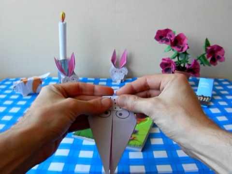 Origami Bookmark - RABBIT