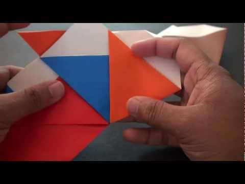 Origami Daily - 356: Modular Spinning Top - TCGames [HD]