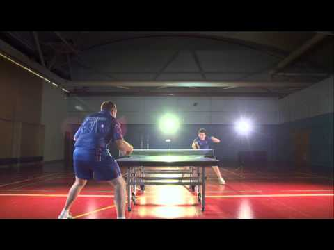 Spend 100 seconds with Will Bayley - British Table Tennis player