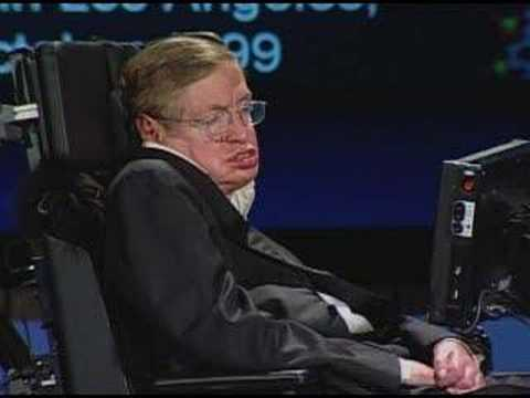 NASA 50th Anniversary Lecture - Stephen Hawking - Part 3