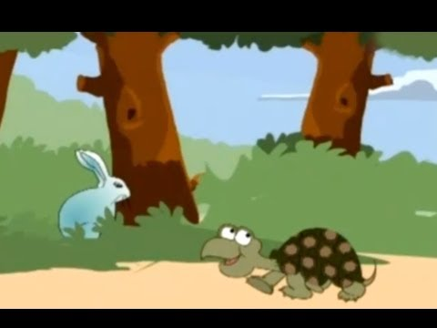 Rabbit And Tortoise - English - Moral Story For Kids