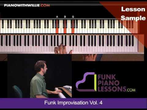 PianoWithWillie.com-ex2-Funk Piano Improvisation Part 4 (FUNK-IMPROV4)