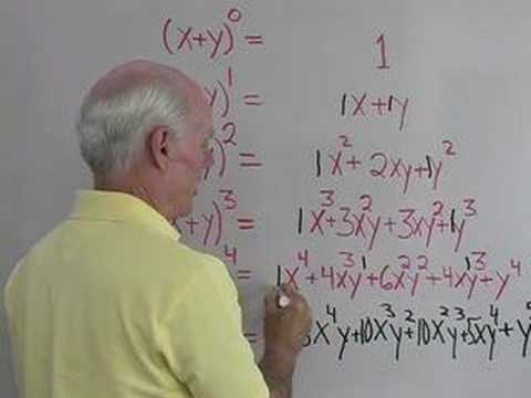 Sequences 4: Pascal's Triangle