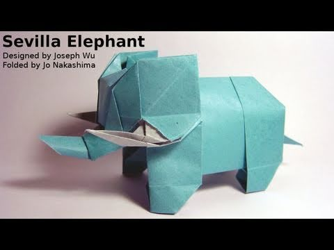 Origami Sevilla Elephant (Joseph Wu) - Not a Tutorial