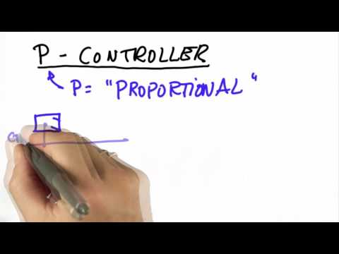 Proportional Control - CS373 Unit 5 - Udacity