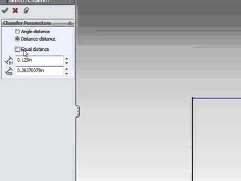 Solidworks Tutorial- Most Common Sketch Tools - Part 1